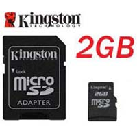 Carte Mémoire Kingston 2Go Micro SD