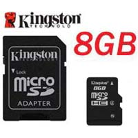 Carte mémoire MicroSDHC 8Go Kingston