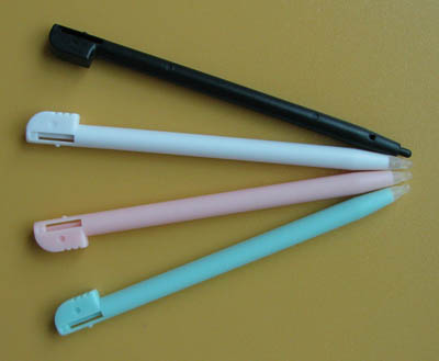 Colorful Stylus Pour DSi (4-Stylus Pack)